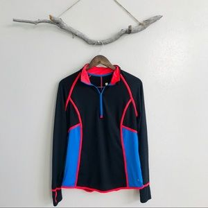 3/$20 Xersion Black and Neon Longsleeve Pullover